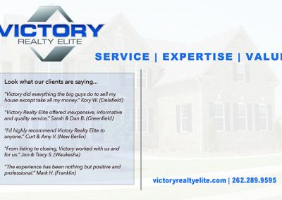 Victory Realty Postcard v1 Back